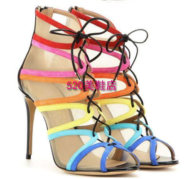 Colorful Summer Women Shoes for Women Shoes Unique Pump Heels for Evening Shoes Prom Party Shoes