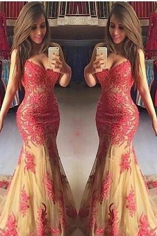 Vestidos De Fiesta Backless Evening Dresses Sleeveless Arabic Burgundy Lace Appliques Sweetheart Elegant Prom Party Gowns