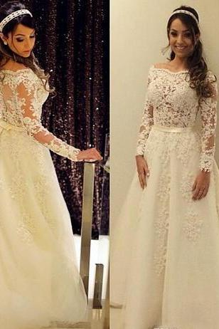 2018 Newest Short Wedding Dresses With Illusion Long Sleeves Full Lace V Neck Backless Summer Beach Bridal Gowns Party Wear