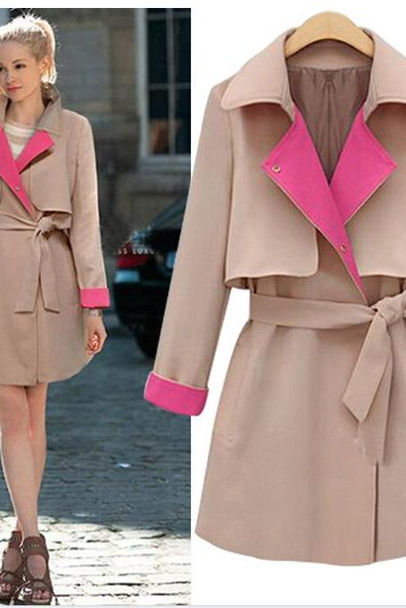 Winter Wool Wrap Coat